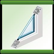 edge of a window